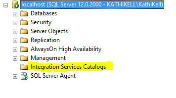 What is the SSIS Catalog? | Aunt Kathi's SQL Server Home