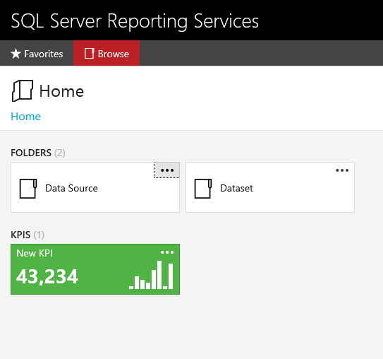 What are SSRS 2016 KPI Reports? | Aunt Kathi's SQL Server Home